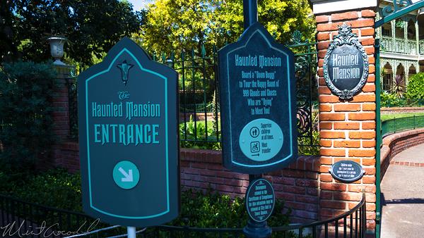 Disneyland Resort, Disneyland, New Orleans Square, Haunted, Mansion