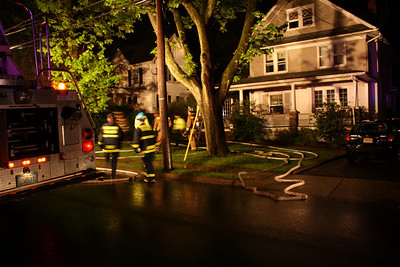 Ridgewood Working Fire (3rd alarm) Lenox Ave. 4-25-10