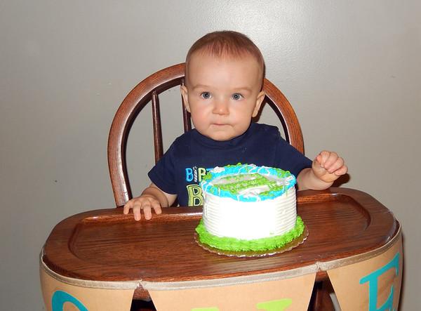 Reid's 1st Birthday