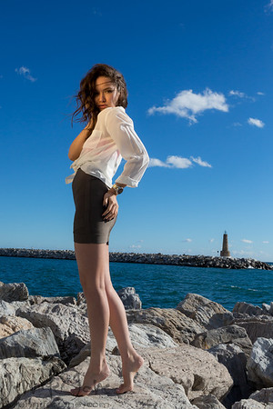 Elvira - Model Shoot, Puerto Banus