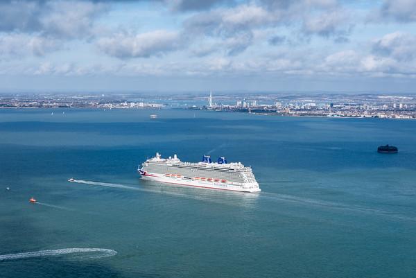 Cruise Ship Britannia