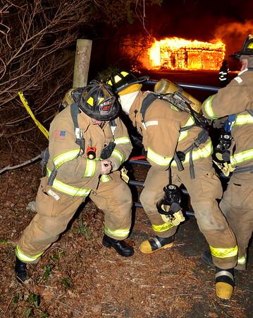 Barn Fire - Norwich, CT - 1.12.12