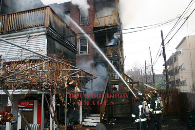 Boston, MA - 4th Alarm, 167 Chelsea Street, 11-16-04