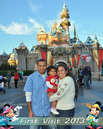 Jayli's First Visit to Disneyland Dec 2013