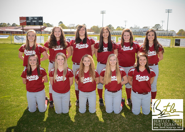 BHS Softball 2013 Team Pictures