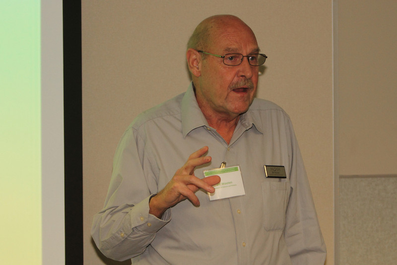 In the morning Energy Session, Bill Wooten with MOSH discussed the Museum Retrofit.