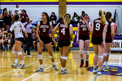 HS Sports - Middleton Girls Volleyball [d] Oct 05, 2017