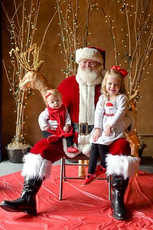 Downtown Dalton Photos with Santa