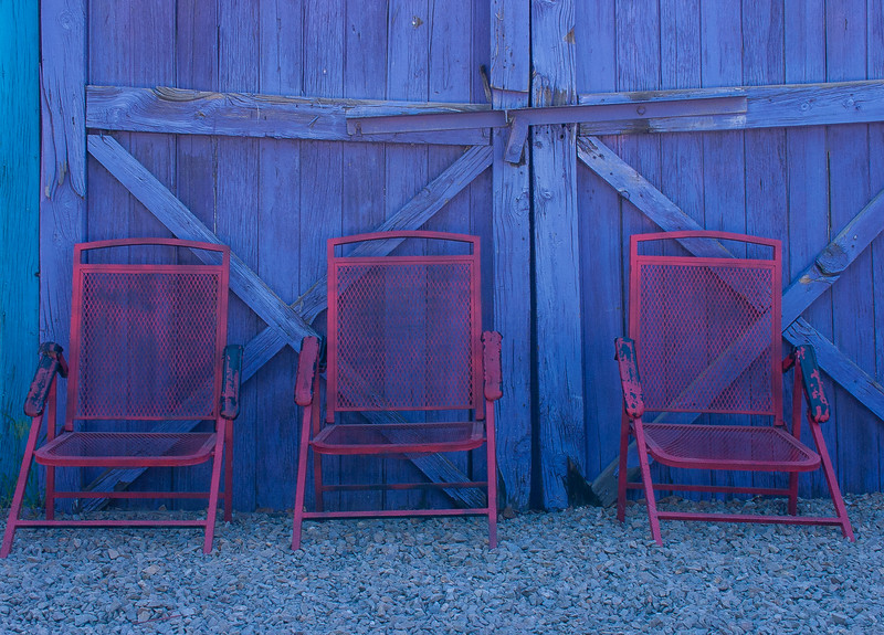 Chairs, Torrance County, New Mexico, 2004