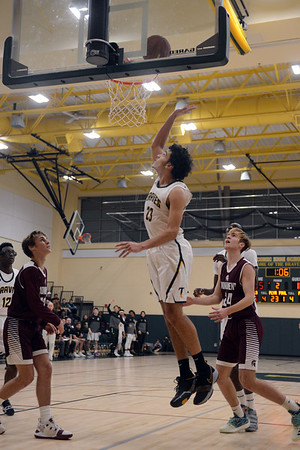 Taconic boys basketball hosts Monument Mountain - 010419
