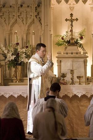 Father Avis' First Mass