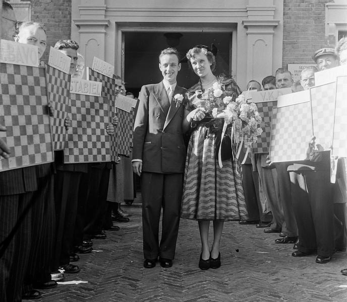 Huwelijk Roozenburg (wereldkampioen dammen)