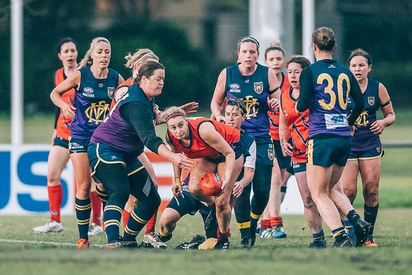 Melbourne v Box Hill North - 2019 Women's AFL Masters Victoria Round 8