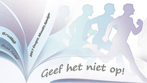 2017 Regionaal Congres Jehovah's Getuigen Expo Heizel Brussel Belgium