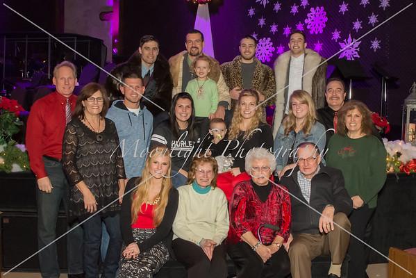 Christmas Eve families '14