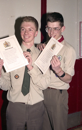 1993-05-05 Chief Scout's Award & Queen's Scout Award Presentations