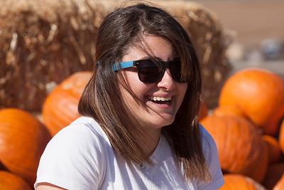 Sarah & the Pumpkin Patch