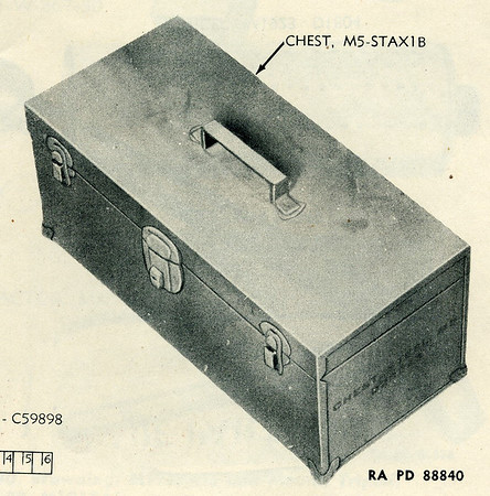 CHEST STEEL M5 D28243