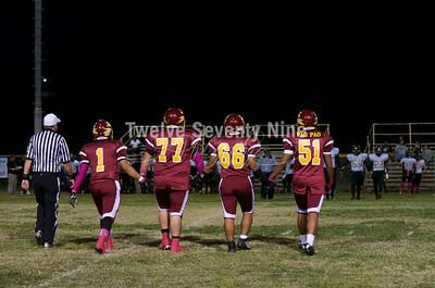 2014 BHS Aztecs Varsity October 10