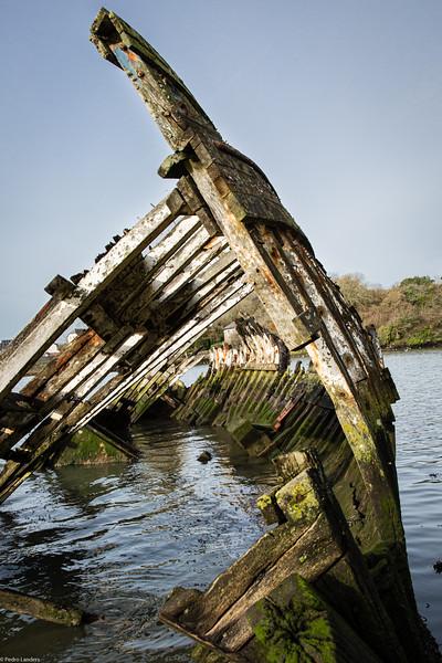 Hooe Lake Wrecks 6