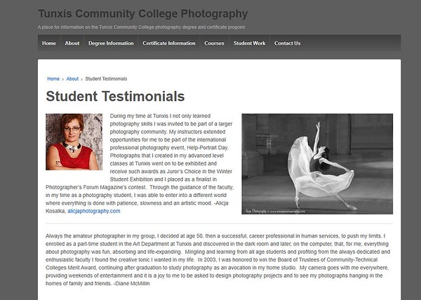 Published in Tunxis Community Collage