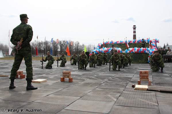 Conscript Day 2009 in 27th Separate Guards Red Banner Sevastopolskaya Motor Rifle Brigade