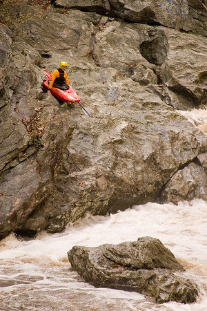 Difficult Run Kayaker