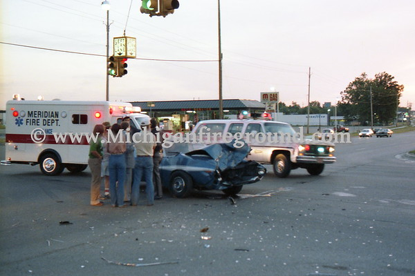 6/18/79 - Meridian Twp injury crash, Grand River & Marsh