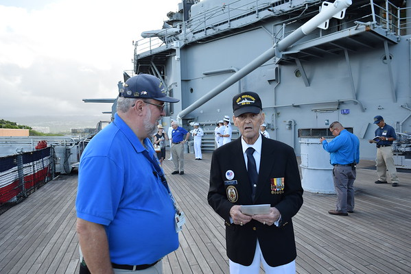 71st Anniversary End WW II USS Missouri BB-63 9-2-16