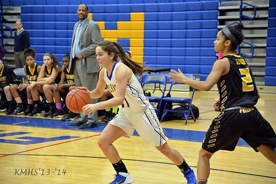Girls Var Basketball 12-13-14MrO'Connor