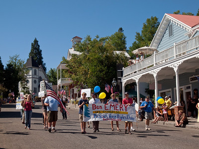 Ben Emery, candidate for House in 4th CD, in Constitution Day parade, Sept. 12, 2010