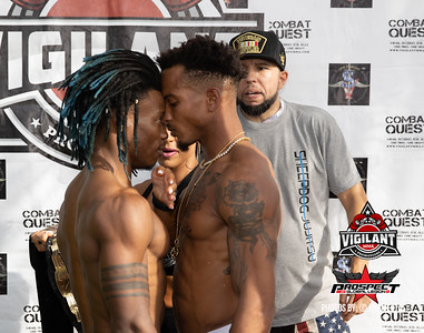 Weigh-in and Face-off