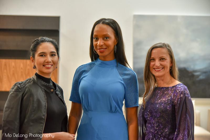 Aisha Ataka, Tameca Carr and Heather Sawtelle
