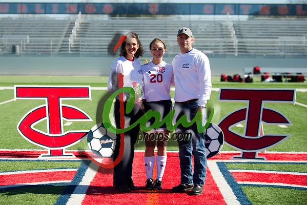 2014 TCH Rebels Soccer Senior Night