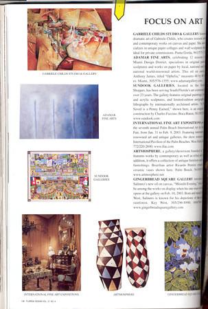 Article in FL. Design magazine showcasing our decorative ceramic pots