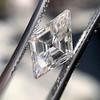 2.39ct Kite Shape Diamond GIA K VVS2 1