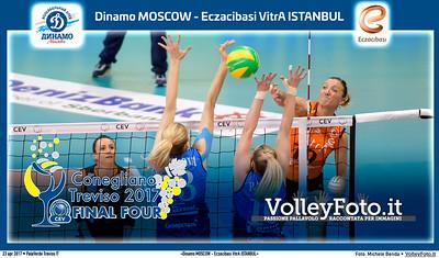 «Dinamo MOSCOW - Eczacibasi VitrA ISTANBUL» #CLF4Treviso Final 3rd place