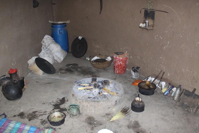 Halaba tribe kitchen