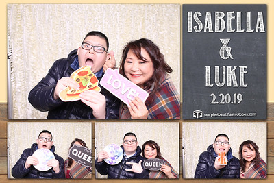 Isabella & Luke Wedding - February 20, 2019