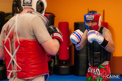 Sparring Practice (10/22/15)