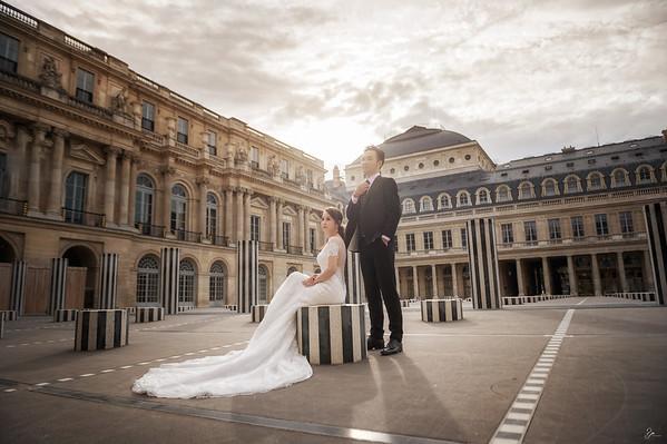 Pre-Wedding-巴黎-智文&瓊如