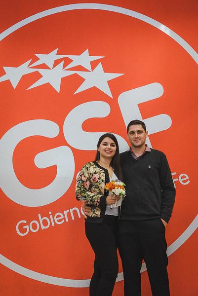 Gabriela Galaverna y Darío Badino La Boda