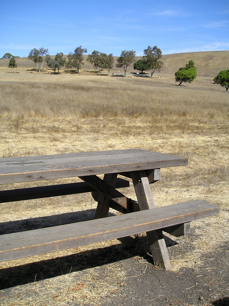 The weather was gorgeous, this park is basically right in the middle of our urban area with gorgeous views, and yet the park was nearly abandoned.  Many nice picnicking areas available.