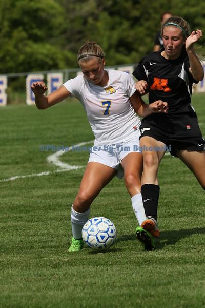 Girls soccer vs Moorehead
