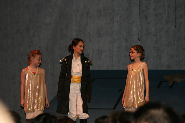 Faith's 7th Grade play-The Little Prince 2014