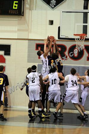2009 12 18 Clarkston Varsity Basketball vs Troy High School