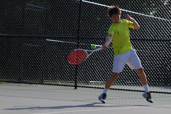 Seiji Hosokawa Tennis College Rcruiting : Match points
