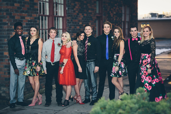 Sweethearts Dance - Payson High 2017 - Kylie