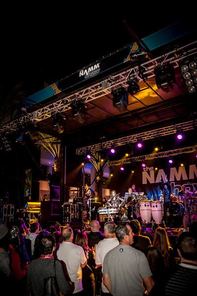 2014_01_24, Anaheim, CA, Anaheim Convention Center, NAMM, Sheila E