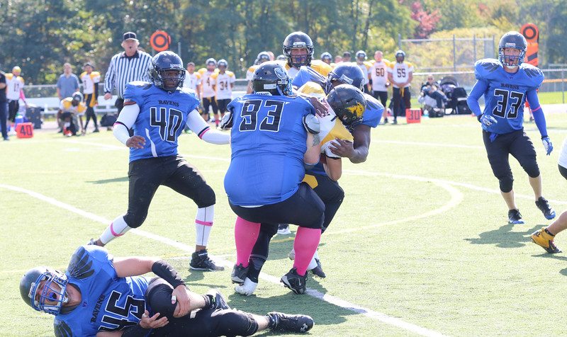 10-5 Ravens vs Franklin County Greyhounds PLAYOFFS